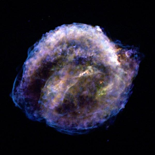 Keplers Supernova Remnant A Stars Death Comes to Life