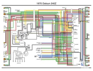 1970 Datsun 240z Wiring Diagram | Flickr  Photo Sharing!