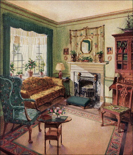 1929 Living Room Karpen Furniture Flickr Photo Sharing