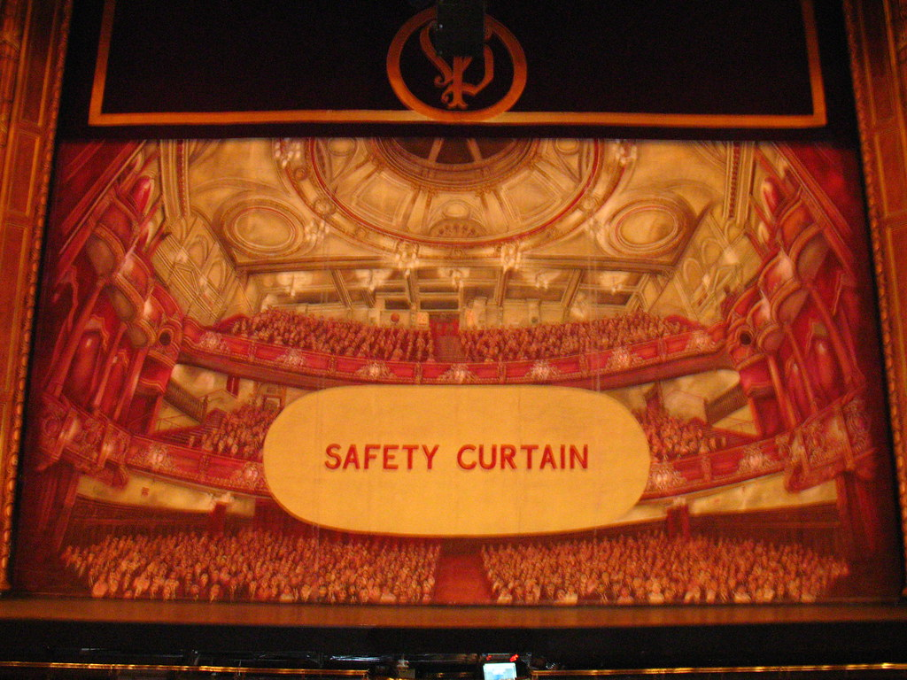Safety Curtain Victoria Palace Theatre Planetgordon Com