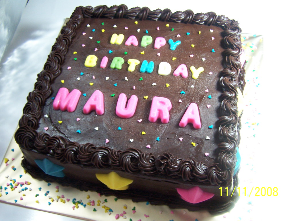 Maura Birthday Cake Happy Birthday Maura Sulis
