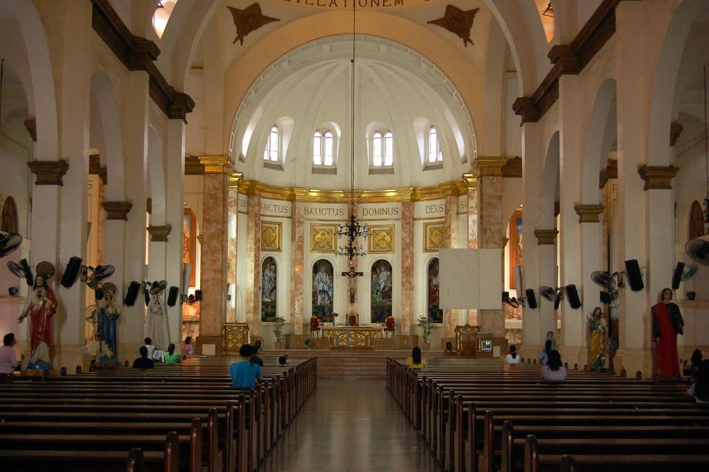 Paco Church Manila The Main Altar Nikon D40 INAFI