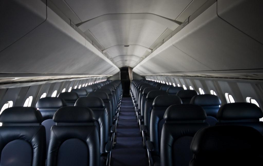 The Concorde Interior The Interior Cabin Of The Concorde