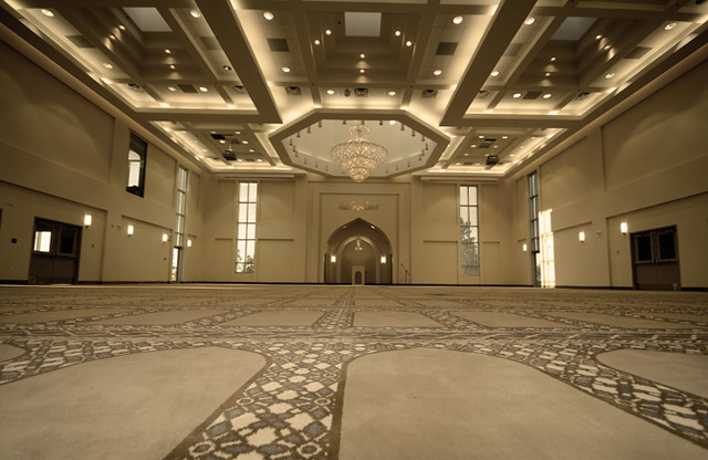 Baitun Nur Mosque Calgary Canada Prayer Hall
