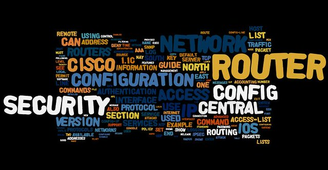 Information Security Wordle NSA Router Security Configura