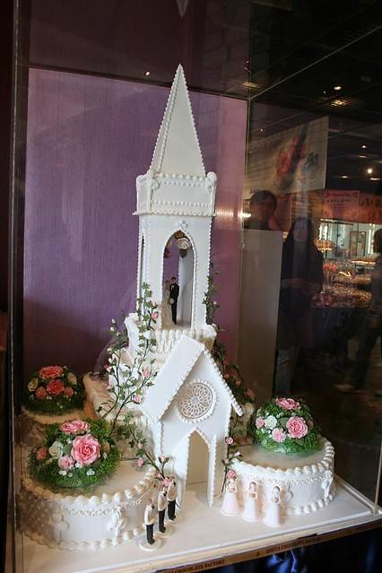 Church Wedding Cake Taken Inside The Shiroi Koibito Park