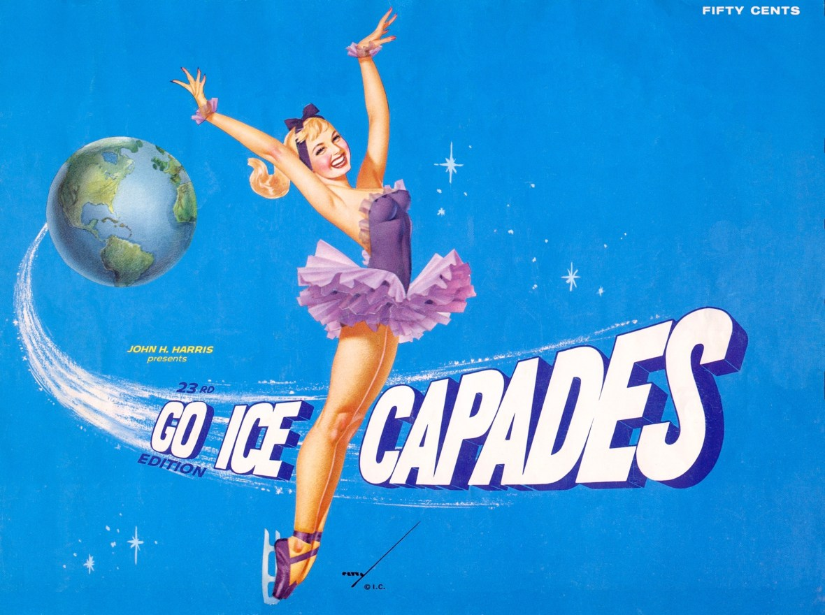 Ice Capades 23rd Edition program - 1962 - Artist: George Petty