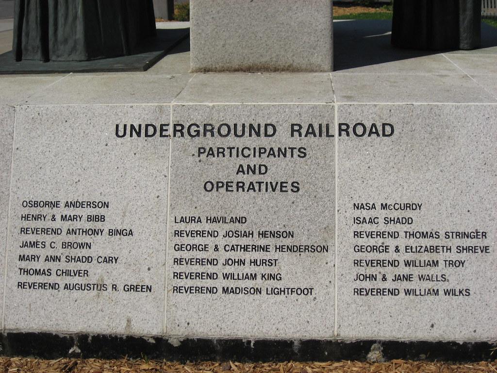 Underground Railroad Operatives