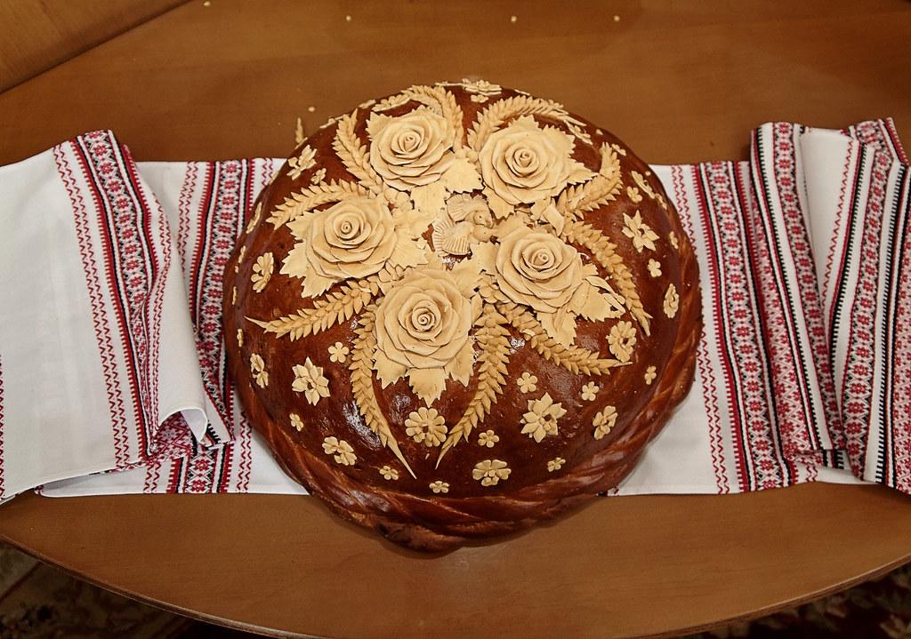 The Korovai Ukrainian Wedding Bread He Korovai Is A