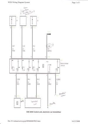 EWS 3 Engine Immobiliser wiring diagram | Tim Brierley | Flickr