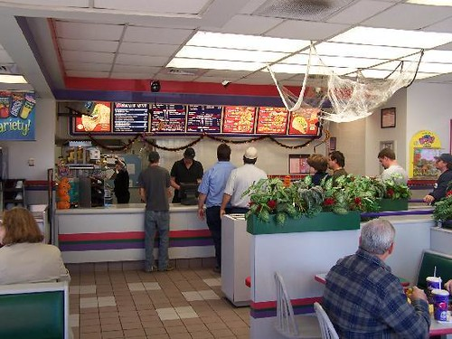 Taco Bell Interior View Crossville Tennessee Flickr