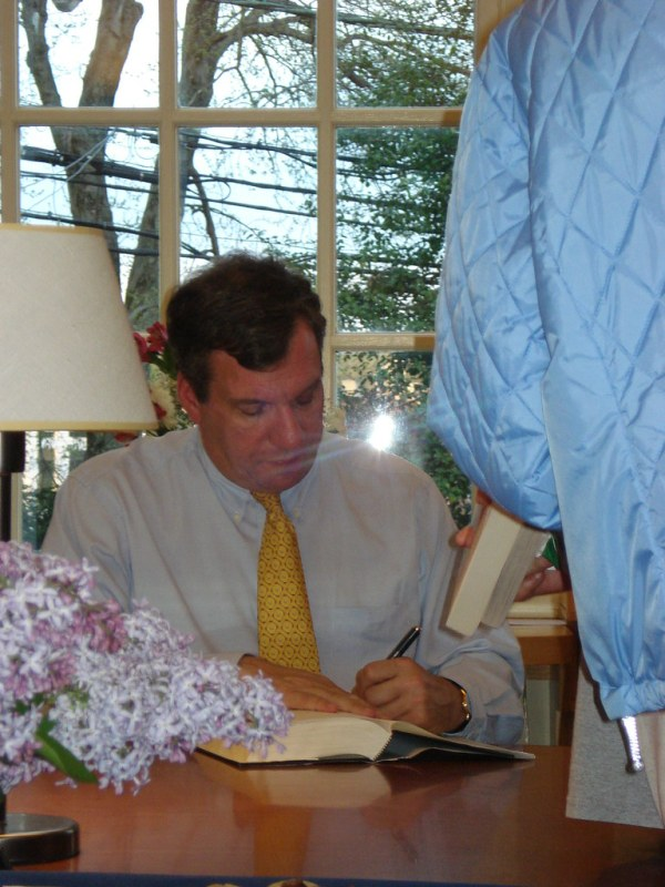 Meet the Author - John Feinstein | Darien Library | Flickr