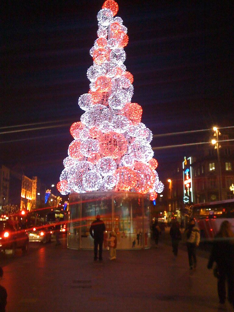Dublin Christmas Tree 2008 Seamus Walsh Flickr