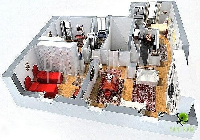 3D Floor Plan, Floor Plan Design, Virtual Tour Floor Plan