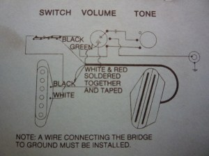 Wiring Diagram | Seymour Duncan STHR1 Hot Rails for Tele pa… | Flickr