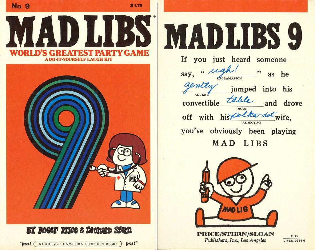 Mad Libs 9