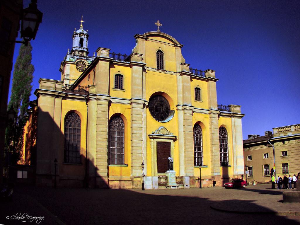 Stockholm Sweden 066 Storkyrkan Eastern Facade Flickr