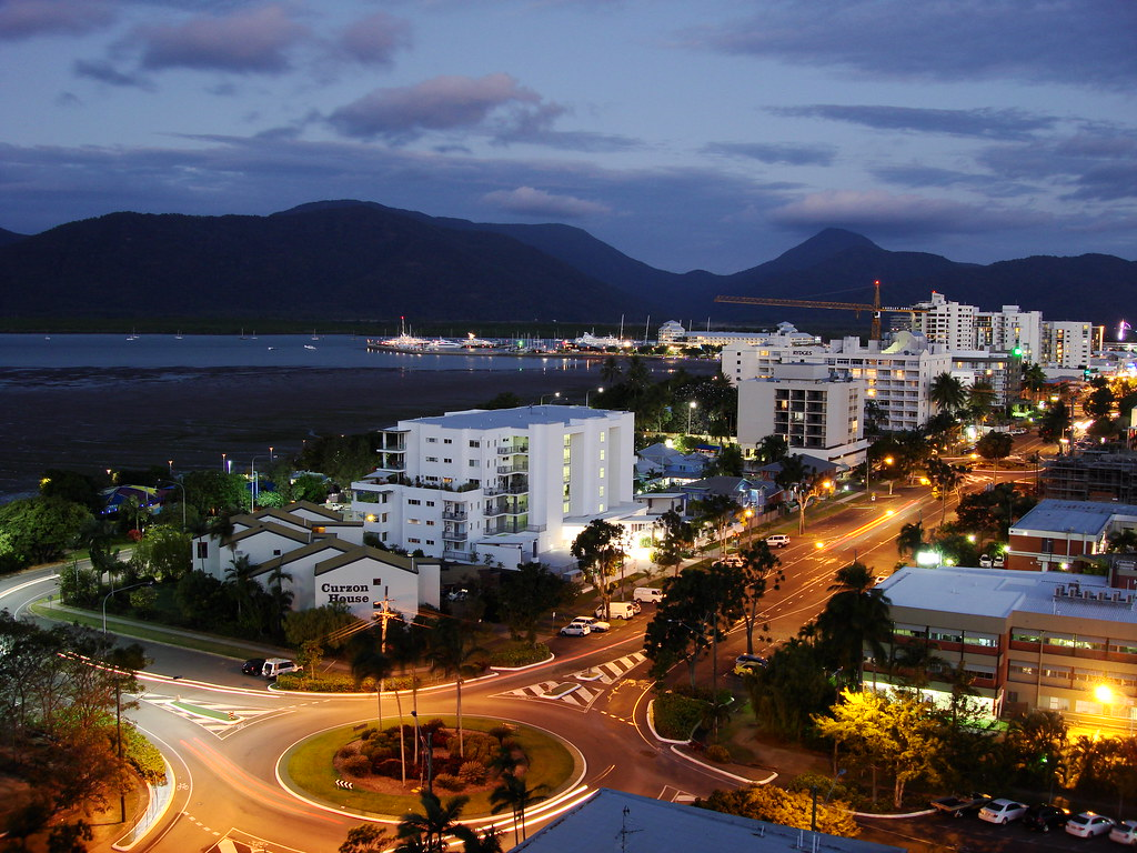 Cairns Foreshore Promenade Cairns Is A Regional City