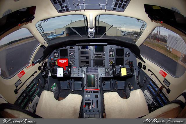 Private Pilatus PC 12 N452MD Cockpit The Full