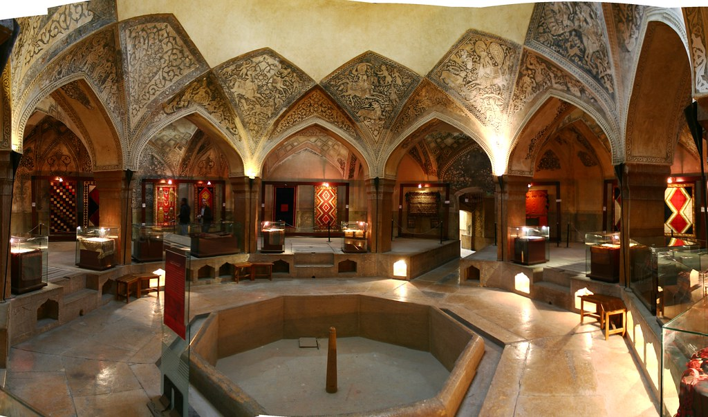 Hamam E Vakil Interior Shiraz This Building In Shiraz