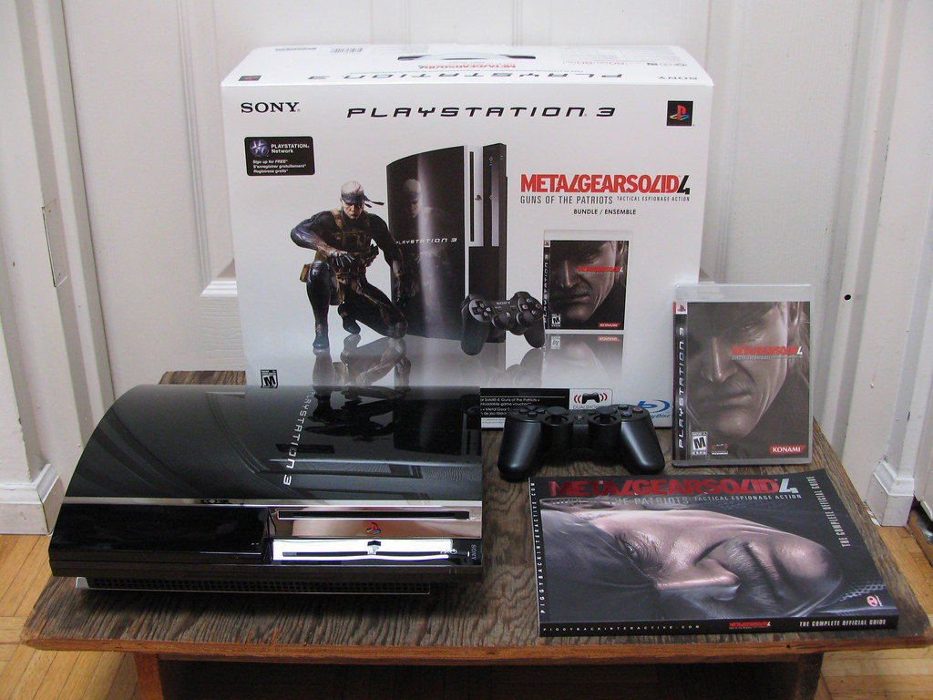 CAN HAZ Metal Gear Solid 4 PS3 80GB Bundle Official Game