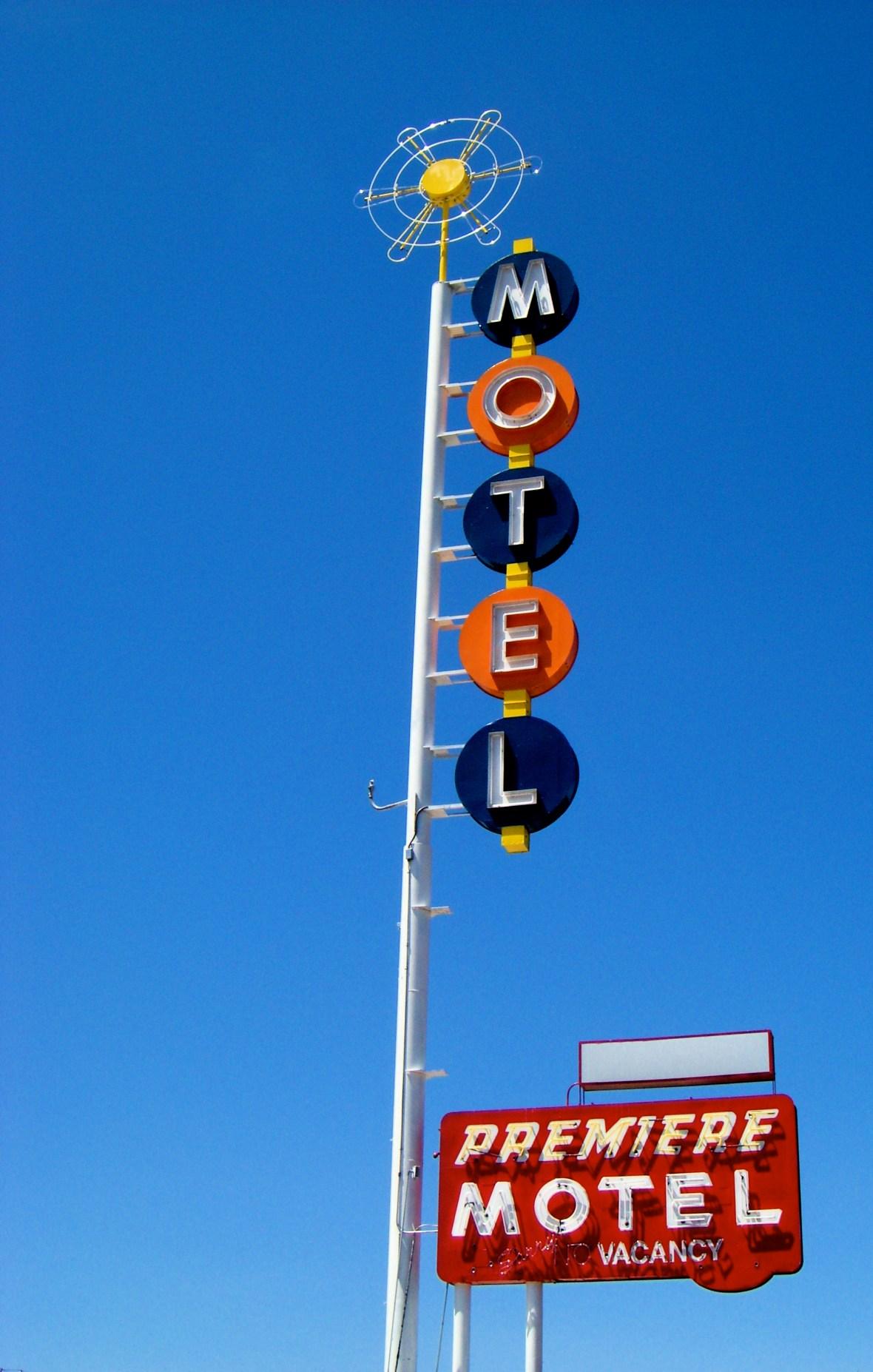 Premiere Motel - 3820 Central Avenue SE, Albuquerque, New Mexico U.S.A. - April 20, 2008