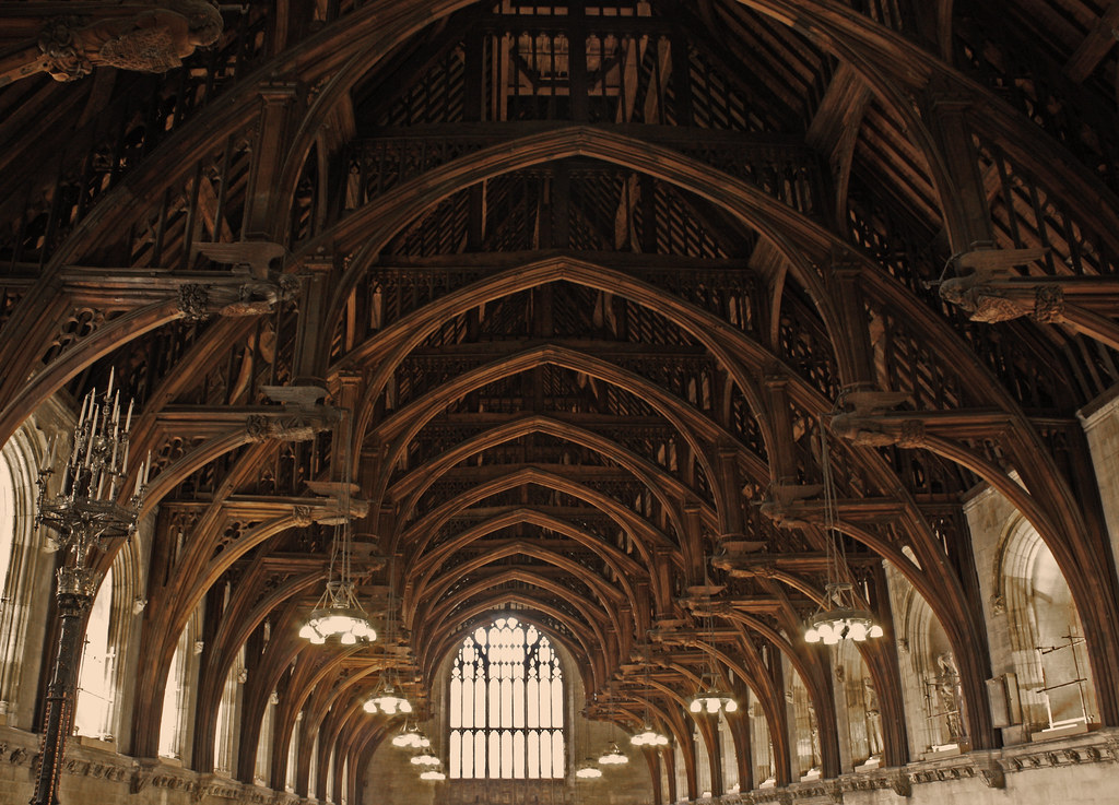 The World S First Hammerbeam Roof The Hammerbeam Roof Is