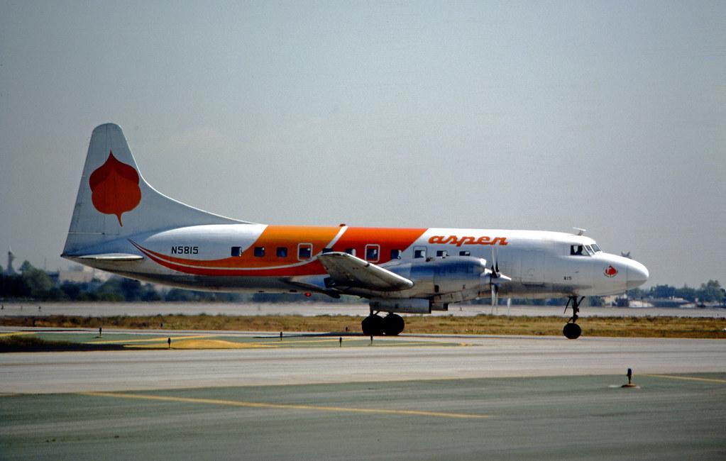 Aspen Airways Convair 580 Convair 580 Aspen Airways LAX