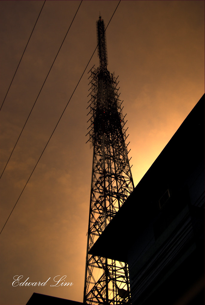 Eiffel Tower Of The Philippines Abs Cbn Radio Tower