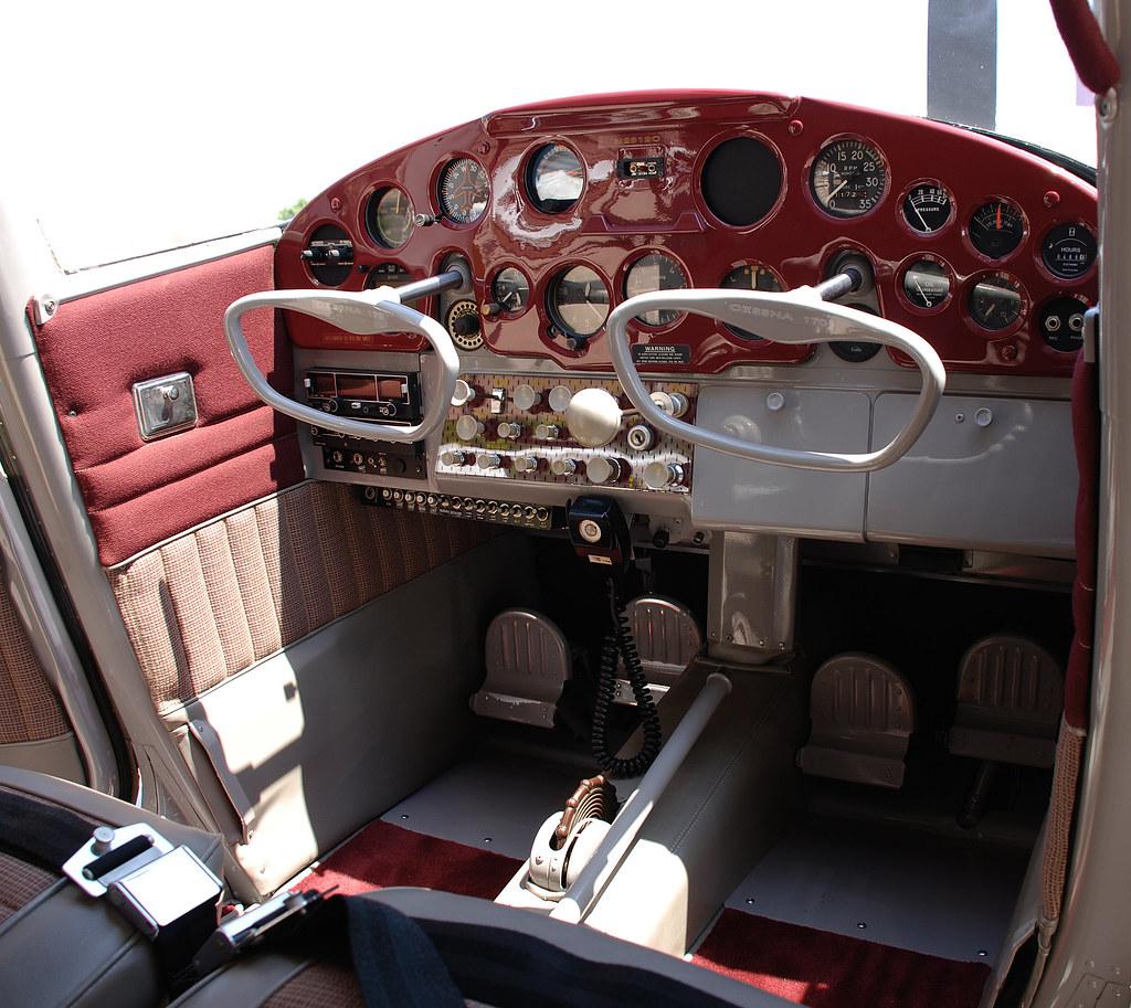 1958 Cessna 170 Interior I Love The Interior On This