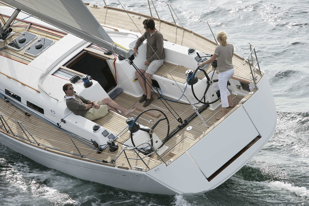 DUFOUR 45 One Of The Newest Boats From European Builder