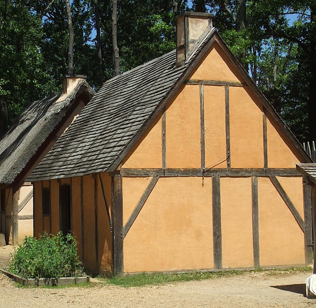 Jamestown Settlement English Homes