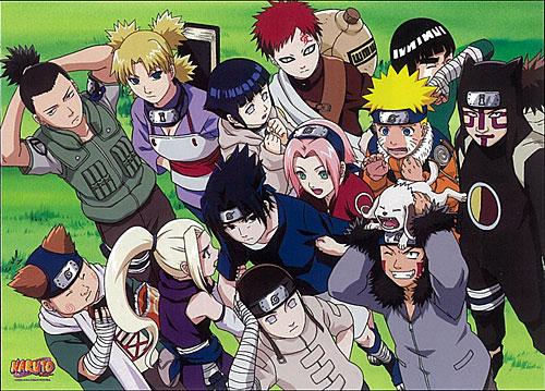 The Naruto Gang 001 DarkGeneralZ Flickr