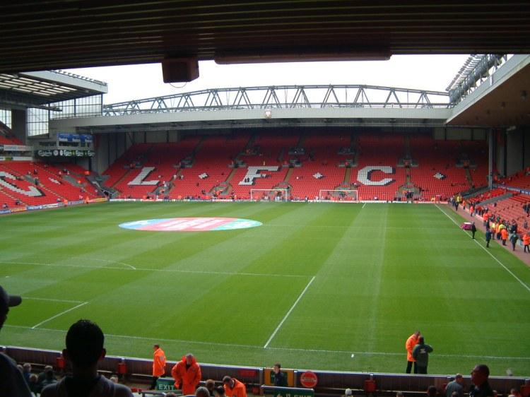 Liverpool FC - The Kop, Anfield Stadium   Paul Chapman ...