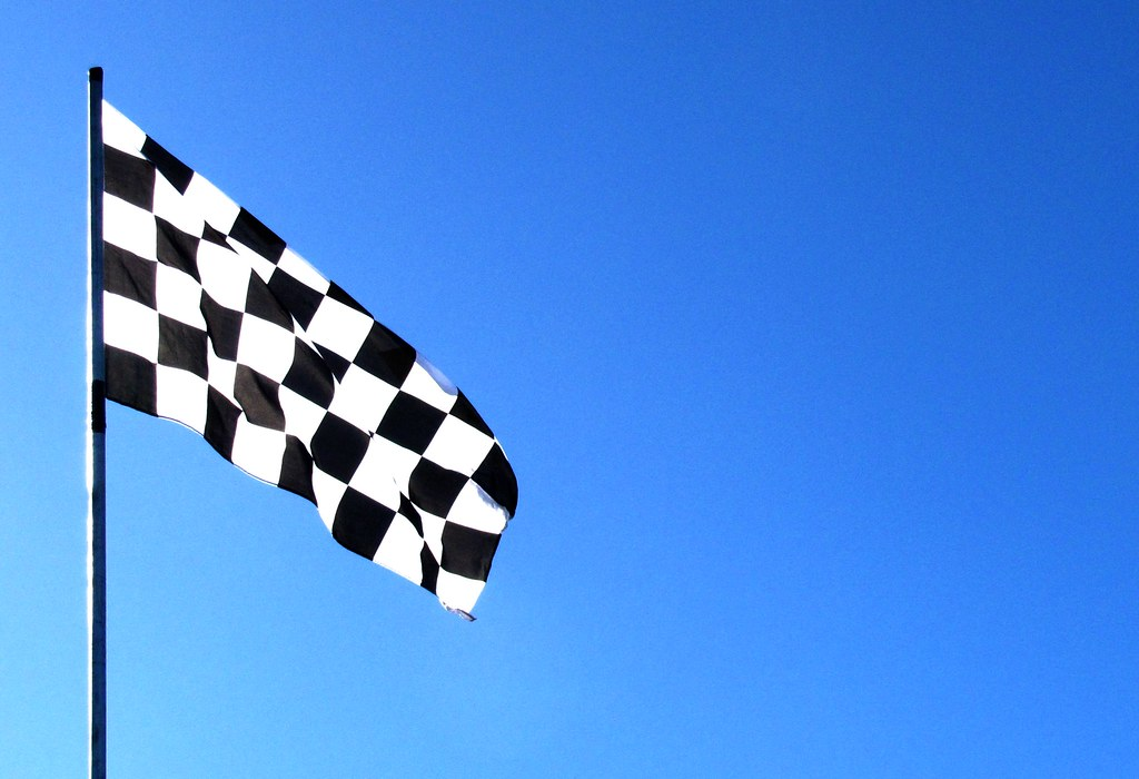 Chequered Flag Yip Its A Chequered Flag Or Checkered D Flickr