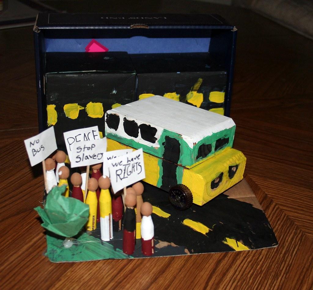 The Bus Rosa Parks Rode