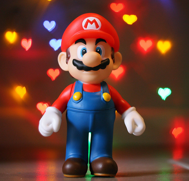 Happy Valentines Day Mario Decided To Give It One Last