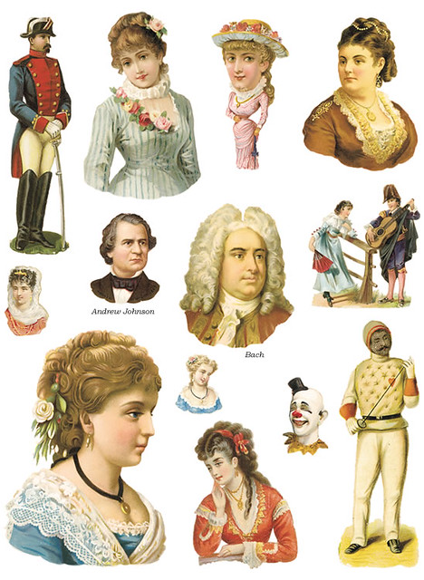Victorian Scrap People Doverpersonal Use Only Flickr
