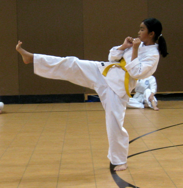 Front Thrust Kick Dragon School Of Tkd Flickr