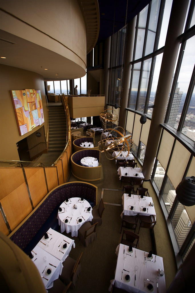 The Sun Dial Restaurant Revolving Restaurant On The 73rd