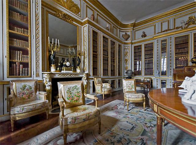 Bibliothque De Louis XVI Fait Partie Des Appartements