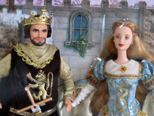 Ken Amp Barbie As Camelots Arthur Amp Guinevere1999MIB Flickr
