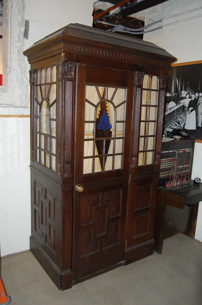 Dsc 0725 Antique Wood Phone Booth Doctor Who Wishes He