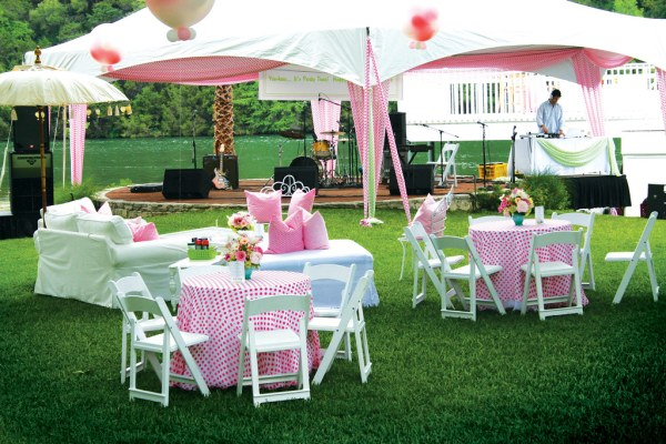 outdoor garden party ideas Backyard Party | Camille Styles Events, www.camillestyles