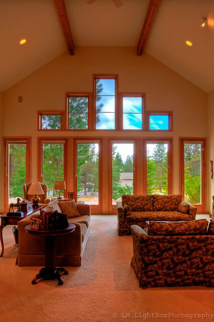 Steve Bennett Builders Ultra Comfortable Living Room With
