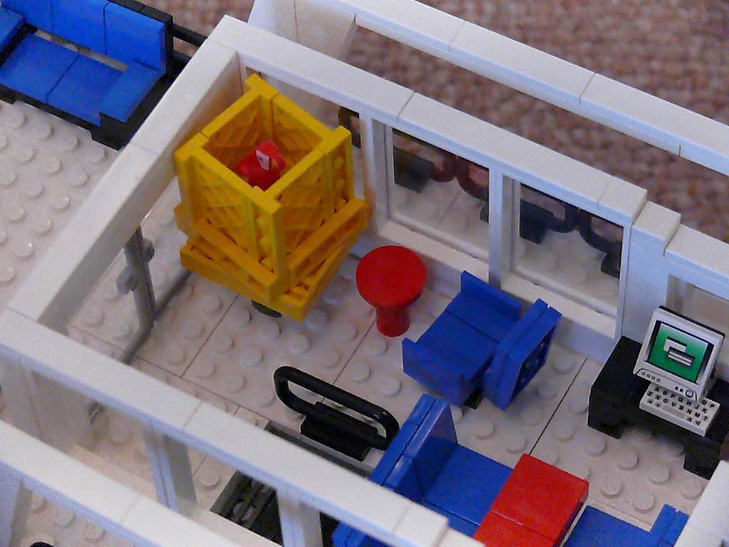 Main Saloon Luxury Motor Yacht Based On Hull From LEGO