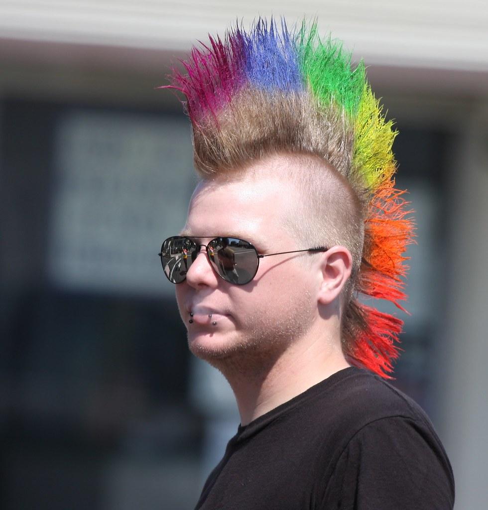 Rainbow Mohawk Nathan Rupert Flickr