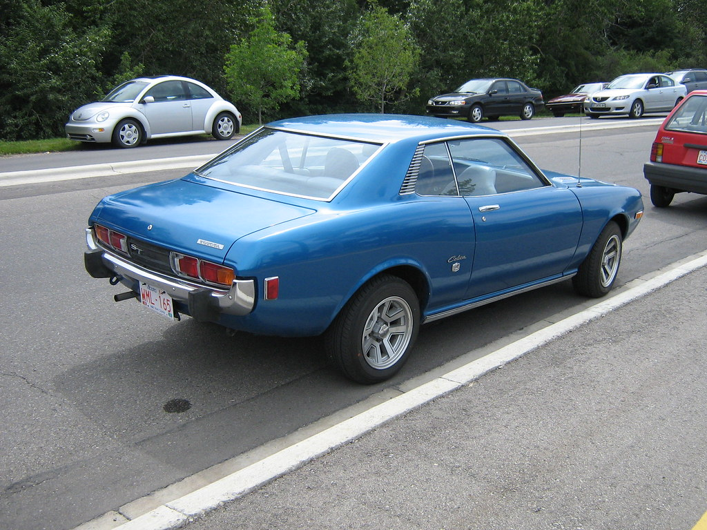 1973 Toyota Celica ST 1973 Toyota Celica ST Parked