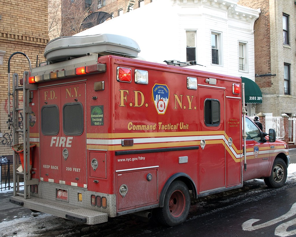 Fdny Command Tactical Vehicle Bronx New York City