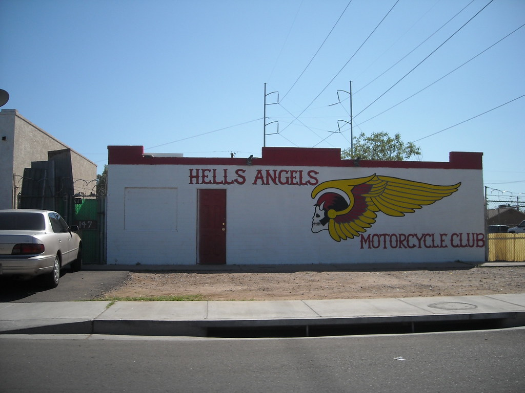 Hells Angels Oakland Clubhouse